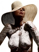 Heidi Klum desnuda en Allure Magazine