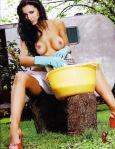 Andrea Estevez desnuda en Playboy