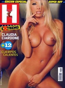 Claudia Ciardone desnuda al extremo