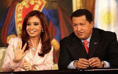 Presidentes de Argentina y Venezuela