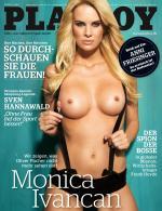 Monica Ivancan desnuda en Playboy